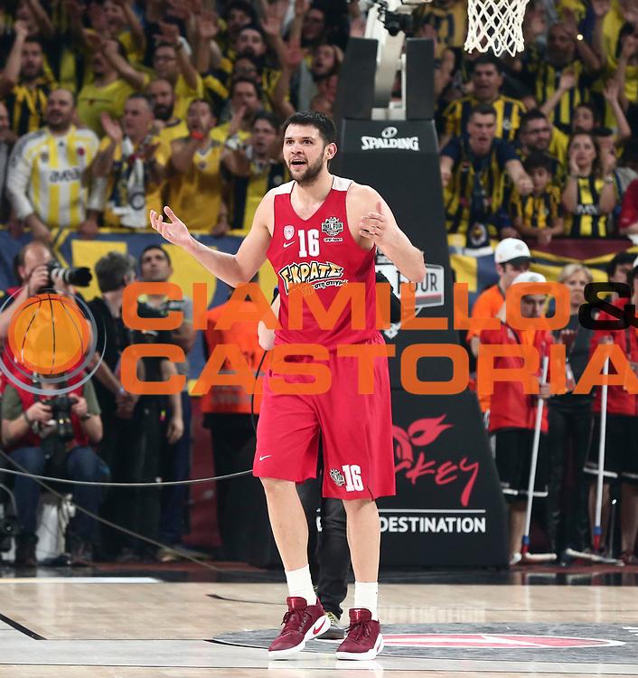 Kostas Papanikolaou<br /> Fenerbahce Istanbul - Olympiakos Piraeus<br /> Euroleague Final Four 2017<br /> Finale 1 - 2 Posto<br /> Euroleague 2016/2017<br /> Istanbul, 21/05/2017<br /> Foto M.Ceretti / Ciamillo - Castoria