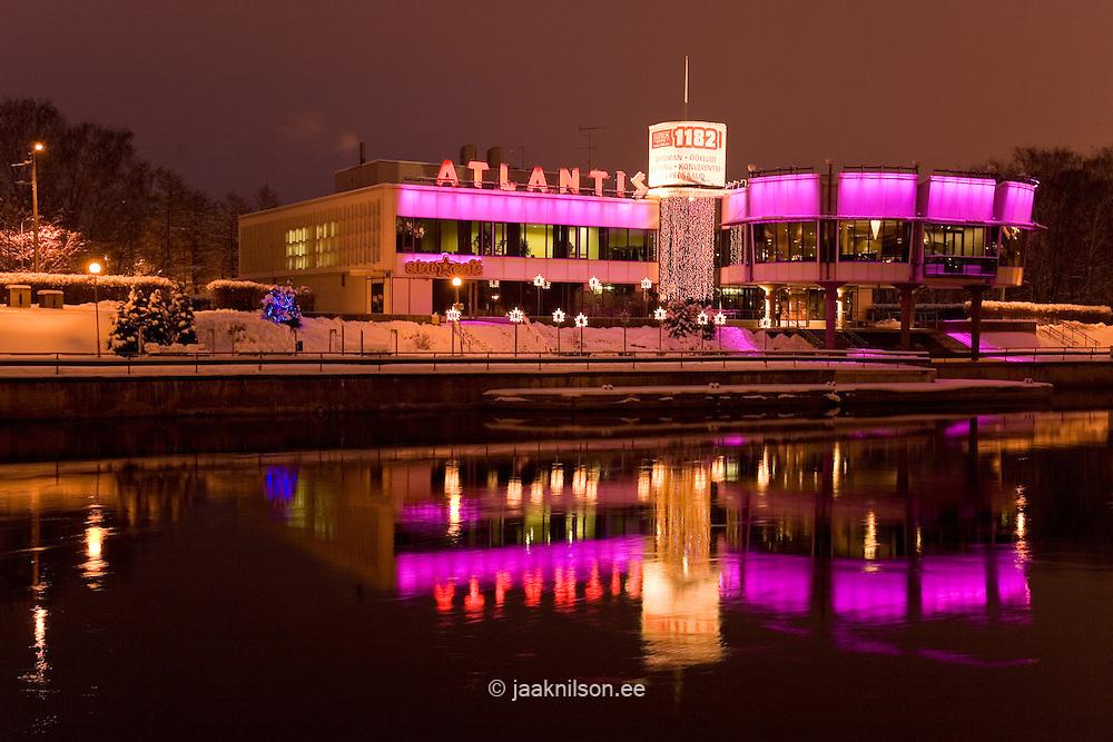 Night Club Atlantis in Tartu, Estonia, Europe
