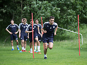 Dundee&rsquo;s Cammy Kerr warms up - Dundee FC pre-season training at Michelin Grounds, Dundee, Photo: David Young<br /> <br />  - &copy; David Young - www.davidyoungphoto.co.uk - email: davidyoungphoto@gmail.com