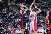 DESCRIZIONE : Pesaro Lega A 2011-12 Scavolini Siviglia Pesaro Banca Tercas Teramo<br /> GIOCATORE : Milos Borisov<br /> CATEGORIA : passaggio penetrazione<br /> SQUADRA : Banca Tercas Teramo<br /> EVENTO : Campionato Lega A 2011-2012<br /> GARA : Scavolini Siviglia Pesaro Banca Tercas Teramo<br /> DATA : 25/03/2012<br /> SPORT : Pallacanestro<br /> AUTORE : Agenzia Ciamillo-Castoria/C.De Massis<br /> Galleria : Lega Basket A 2011-2012<br /> Fotonotizia : Pesaro Lega A 2011-12 Scavolini Siviglia Pesaro Banca Tercas Teramo<br /> Predefinita :