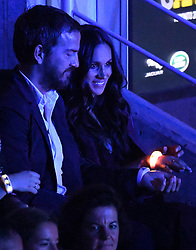 The Prime Minister of Canada, Justin Trudeau, enjoys a beer as he and wife Sophie Trudeau attend The Invictus Games 2017 Opening Ceremony at the Air Canada Centre, Toronto, Ontario, Canada, on the 23rd September 2017. 24 Sep 2017 Pictured: Meghan Markle attends The Invictus Games 2017 Opening Ceremony at the Air Canada Centre, Toronto, Ontario, Canada, on the 23rd September 2017. . Photo credit: James Whatling / MEGA TheMegaAgency.com +1 888 505 6342