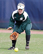 Michigan State Spartans during the Combat Classic played at FIU Softball Complex in Miami, Florida.