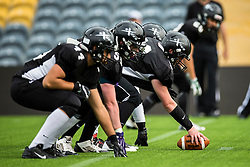 Kent Exiles - Mandatory by-line: Jason Brown/JMP - 27/08/2016 - AMERICAN FOOTBALL - Sixways Stadium - Worcester, England - Kent Exiles v East Kilbride Pirates - BAFA Britbowl Finals Day