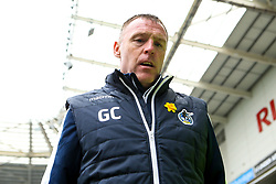 Bristol Rovers manager Graham Coughlan arrives at Coventry City - Mandatory by-line: Robbie Stephenson/JMP - 07/04/2019 - FOOTBALL - Ricoh Arena - Coventry, England - Coventry City v Bristol Rovers - Sky Bet League One