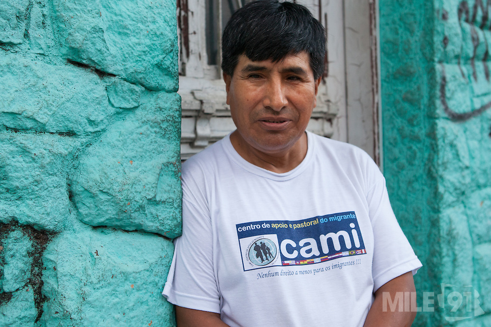 Zachariah is a community outreach worker for CAMI.  <br /> <br /> CAMI is an organisation set up to suport immigrant workers in São Paulo, Brazil. Some of the services they offer include; language courses, legal advice and skills workshops such as textiles.