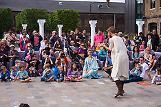 2014-08-30 Battle Bridge: Boudicca Vs The Romans brings history alive in Kings Cross.