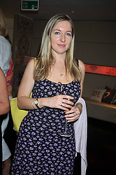 Writer & broadcaster Victoria Coren at the launch of Tom Parker Bowles's new book 'Full English' held in the Gallery Restaurant, Selfridges, Oxford Street, London on 9th September 2009.
