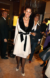 CHRISTINA JUFFALI she was Christina Estrada at a party to ceebrate the bublication of 'The Ravenscar Dynasty' by Barbara Taylor Bradford hld at the newly opened Mousaieff Store, 172 New Bond Street, London on 28th September 2006.<br /><br />NON EXCLUSIVE - WORLD RIGHTS