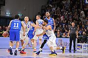 Nic Moore - Amath M'Baye - Rok Stipcevic<br /> Banco di Sardegna Dinamo Sassari - Enel New Basket Brindisi<br /> LegaBasket Serie A LBA Poste Mobile 2016/2017<br /> Sassari 02/04/2017<br /> Foto Ciamillo-Castoria