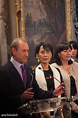 Aung San Suu Kyi and Bertrand Delanoe
