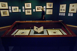 Pictured: <br /> The annual exhibition of the collection of Turner watercolours bequeathed in 1900 by Henry Vaughan was in the finalstages of preparation today.  The exhibition runs at the Scottish National Gallery from January 1 to 30<br /> <br /> <br /> Ger Harley | EEm 21 December 2017