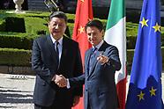 20190323 - Firma Accordi Italia- Cina Villa Madama  Conte -XI Jinping
