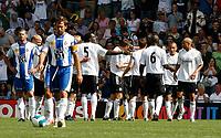 Photo: Steve Bond.<br />Derby County v RCD Espanyol. Pre Season Friendly. 04/08/2007. derby County celebrate their opener