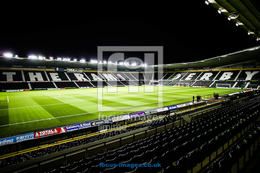 A general view before Sky Bet Championship match at the Ipro Stadium, Derby<br /> Picture by Andy Kearns/Focus Images Ltd 0781 864 4264<br /> 04/11/2014