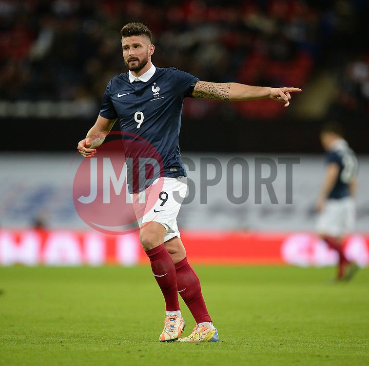 Oliver Giroud of France  - Mandatory byline: Alex James/JMP - 07966 386802 - 17/11/2015 - FOOTBALL - Wembley Stadium - London, England - England v France - International Friendly