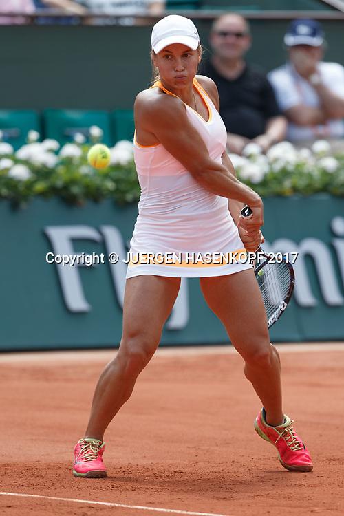 YULIA PUTINTSEVA (KAZ)<br /> <br /> Tennis - French Open 2017 - Grand Slam / ATP / WTA / ITF -  Roland Garros - Paris -  - France  - 2 June 2017.