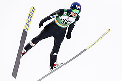 February 8, 2019 - Lahti, Finland - Jørgen Graabak competes during Nordic Combined, PCR/Qualification at Lahti Ski Games in Lahti, Finland on 8 February 2019. (Credit Image: © Antti Yrjonen/NurPhoto via ZUMA Press)
