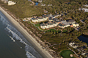 Aerial view of the Sanctuary at Kiawah Island Golf Resort in Kiawah Island, SC.