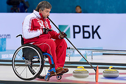 Marat Romanov, Wheelchair Curling Finals at the 2014 Sochi Winter Paralympic Games, Russia