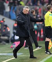 Fussball  1. Bundesliga  Saison 2016/2017  16. Spieltag  FC Bayern Muenchen - RB Leipzig        21.12.2016 JUBEL Trainer Carlo Ancelotti (FC Bayern Muenchen)