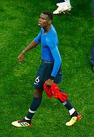 Paul Pogba (France) celebration<br /> Saint Petersburg 10-07-2018 Football FIFA World Cup Russia  2018 Semifinal <br /> France - Belgium / Francia - Belgio <br /> Foto Matteo Ciambelli/Insidefoto