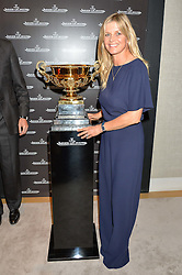 The MARCHIONESS OF MILFORD HAVEN at the Jaeger-LeCoultre Gold Cup draw 2016 held at Jaeger-LeCoultre, Bond Street, London on 6th June 2016.