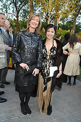 Left to right, LAURA WEINSTOCK and CLARA WONG at a reception at the gold medal winning De Beers garden in aid of the KT Wong Charitable Trustattending the 2nd day of the 2008 Chelsea Flower show on 20th May 2008.<br /><br />NON EXCLUSIVE - WORLD RIGHTS
