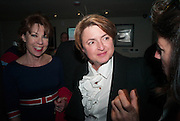 KATHY LETTE; DEBBIE TOKSVIG; , BULLY BOY by Sandi Toksvig, St. James Theatre, 12 Palace Street, London. 19 September 2012