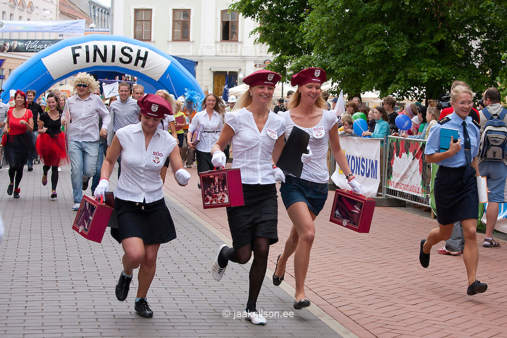 Rat Race in Tartu, Estonia, Europe