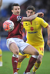Marc Richards Northampton Town, Northampton Town v MK Dons, FA Cup 3rd Round,  Sixfields Stadium, Saturday 9th January 2016