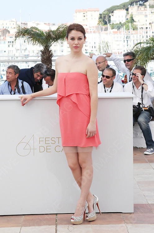19.MAY.2011. CANNES<br /> <br /> BIANCA SUARE AT THE PHOTOCALL FOR THE SKIN I LIVE AT THE 64TH CANNES INTERNATIONAL FILM FESTIVAL 2011 IN CANNES, FRANCE. <br /> <br /> BYLINE: EDBIMAGEARCHIVE.COM<br /> <br /> *THIS IMAGE IS STRICTLY FOR UK NEWSPAPERS AND MAGAZINES ONLY*<br /> *FOR WORLD WIDE SALES AND WEB USE PLEASE CONTACT EDBIMAGEARCHIVE - 0208 954 5968*