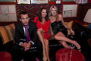 DAN MACMILLAN; SASHA VOLKOVA; MEREDITH OSTRON, BRIONI FRAGRANCE LAUNCH. Annabels. Berkeley Sq. London. 14 October 2009.