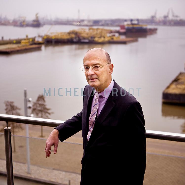 Albert Thissen, directeur van  Hapag Lloyd in Rotterdam