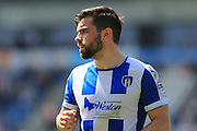 Elliot Lee during the Sky Bet League 1 match between Colchester United and Rochdale at the Weston Homes Community Stadium, Colchester, England on 8 May 2016. Photo by Daniel Youngs.