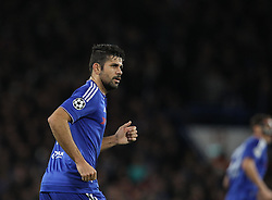 Diego Costa of Chelsea - Mandatory byline: Paul Terry/JMP - 09/12/2015 - Football - Stamford Bridge - London, England - Chelsea v FC Porto - Champions League - Group G