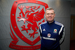 CHEPSTOW, WALES - Friday, May 23, 2014: Coach Craig Gill during the Football Association of Wales' National Coaches Conference 2014 at Dragon Park FAW National Development Centre. (Pic by David Rawcliffe/Propaganda)