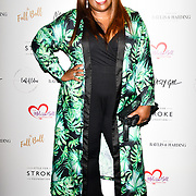 Chizzy Akudolu attends gala dinner and concert to raise money and awareness for the Melissa Bell Foundation and Style For Stroke Foundation. 14 October 2018.