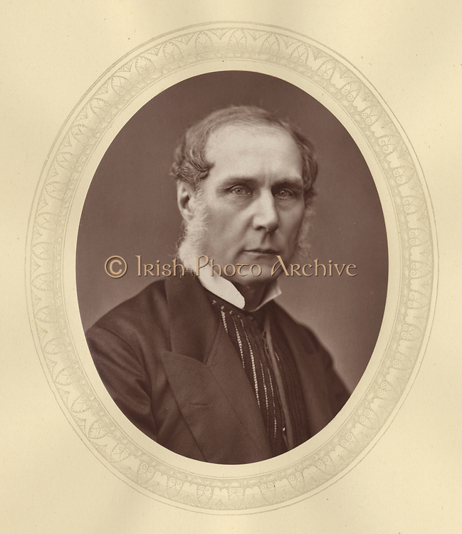 'Roundell Palmer, 1st Earl Selbourne (1812-1895) c1880, English lawyer and  Liberal politician. He served twice as Lord Chancellor of Great Britain under  William Gladstone, 1872-1874 and 1880-1885.'