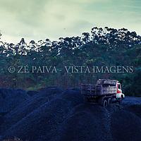 Extracao de carvao em Sideropolis, Criciuma, Sul de Santa Catarina, Brasil. foto de Ze Paiva/Vista Imagens