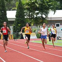 C Division Girls 100m