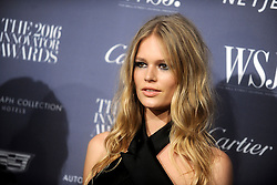 November 2, 2016 - New York, New York, USA - Anna Ewers attends the WSJ Magazine Innovator Awards 2016 at Museum of Modern Art on November 2, 2016 in New York City. (Credit Image: © Future-Image via ZUMA Press)
