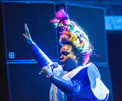 "Basement Jaxx headline the main stage on Friday night, Rockness 2013, the annual music festival which took place in Scotland at Clune Farm, Dores, on the banks of Loch Ness, near Inverness in the Scottish Highlands. The festival is known as ""the most beautiful festival in the world"" ."