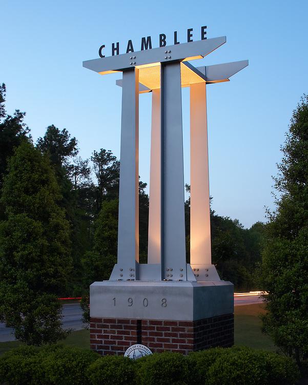 City of Chamblee Signage - Chamblee, GA