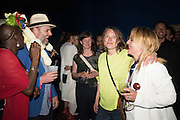 MILLIE LAWS; GAVIN TURK; SARAH LUCAS, ; VANESSA FRISTEDT SWEDISH BLONDE;   Sarah Lucas- Scream Daddio party hosted by Sadie Coles HQ and Gladstone Gallery at Palazzo Zeno. Venice. 6 May 2015.