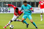 ALKMAAR - 22-04-2017, AZ - FC Twente, AFAS Stadion, AZ speler Ridgeciano Haps, FC Twente speler Mateusz Klich