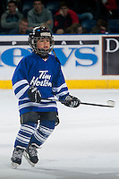 KELOWNA, CANADA - NOVEMBER 29: Kelowna Minor Hockey TimBits skates during intermission on November 29, 2014 at Prospera Place in Kelowna, British Columbia, Canada.  (Photo by Marissa Baecker/Shoot the Breeze)  *** Local Caption *** TimBits