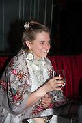 STEPHANIE K-LIE, Liberatum Cultural Honour  for John Hurt, CBE in association with artist Svetlana K-Lié.  Spice Market, W London - Leicester Square
