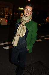 Fashion designer MATTHEW WILLIAMSON<br />