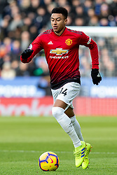 February 3, 2019 - Leicester, England, United Kingdom - Jesse Lingard of Manchester United on the ball during the Premier League match between Leicester City and Manchester United at the King Power Stadium, Leicester on Sunday 3rd February 2019. (Credit Image: © Mi News/NurPhoto via ZUMA Press)