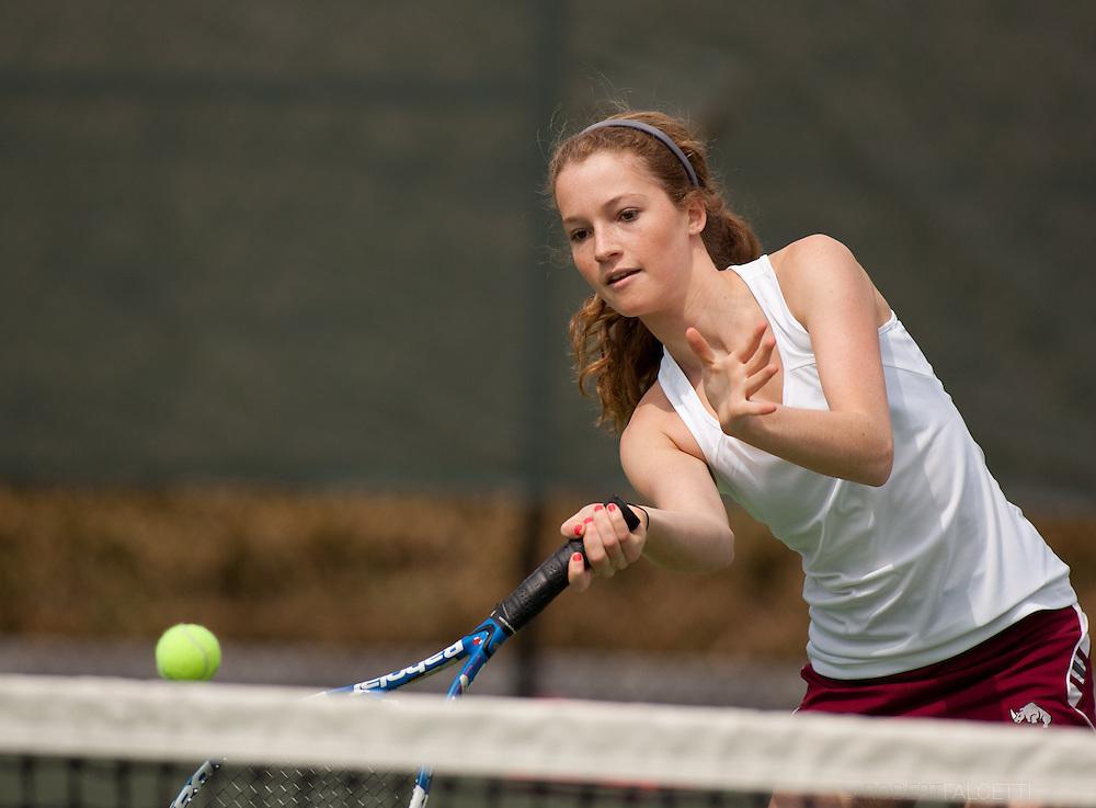 Taft School-April 2013- Girls Tennis. (Photo by Robert Falcetti)